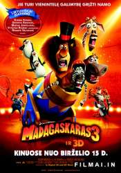 Madagaskaras 3 / Madagascar 3: Europe's Most Wanted (2012)