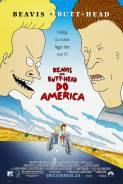 """Byvis ir Tešlagalvis """"daro"""" Ameriką / Beavis and Butt-Head Do America (1996)"""