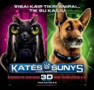 Katės ir šunys 2: kačių kerštas / Cats & Dogs: The Revenge of Kitty Galore (2010)